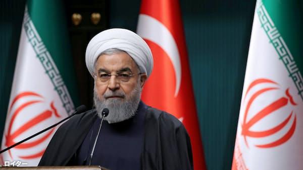 テロで27人死亡 イラン大統領「米などが支援」