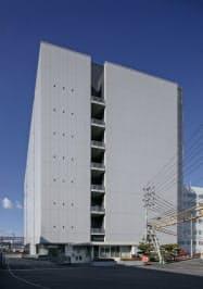 日亜化学工業が建設していた半導体レーザーの新生産棟が完成した(徳島県阿南市)