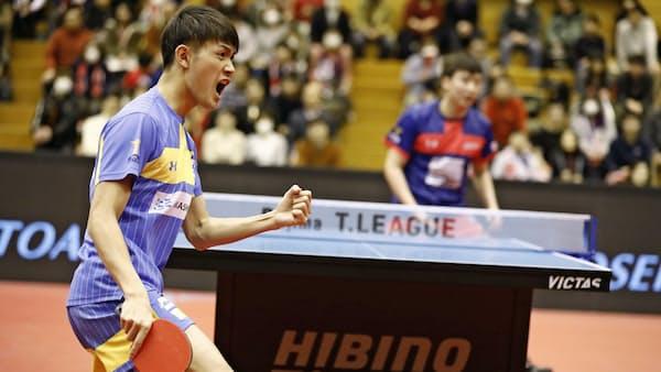 卓球Tリーグ 男子はファイナル進出へ激しい争い