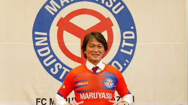 49歳森山氏が現役復帰 サッカー元日本代表、愛知で