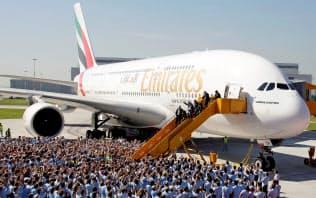 小型機全盛の流れが加速し、世界最大の旅客機は苦戦していた=ロイター