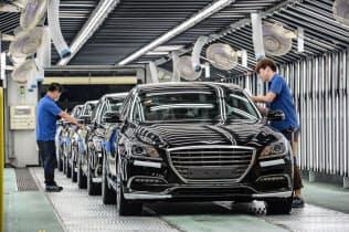 販売奨励金が利益を下押しする=現代自動車提供