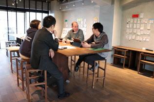 香川県はスタートアップ企業の育成に力を入れる(あなぶきグループが運営する高松市の「co―ba」)
