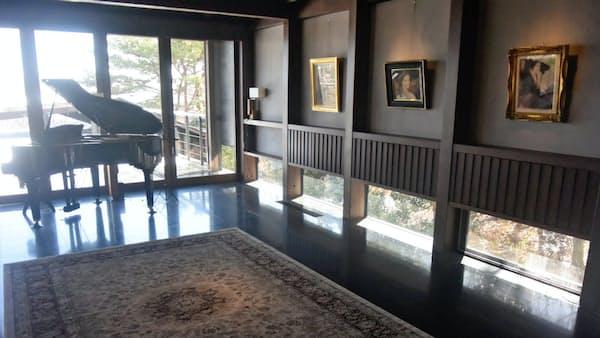 芦屋市の邸宅 美術館に 現代美術、屋内に50点展示