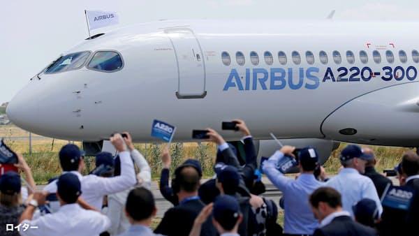 追い風の小型旅客機で攻防 エアバス対ボーイング