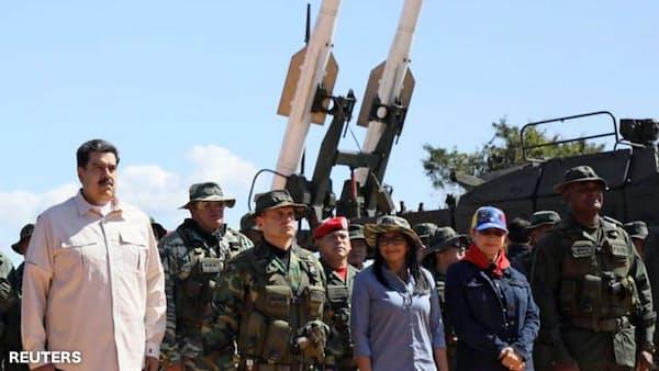 米財務省、ベネズエラに新たな経済制裁 軍や警察高官ら
