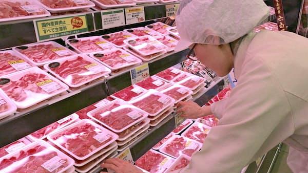 スーパー相次ぎ精肉工場 人手不足で店内加工集約 人員は総菜に
