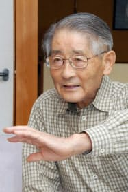 歴史学者の直木孝次郎さん