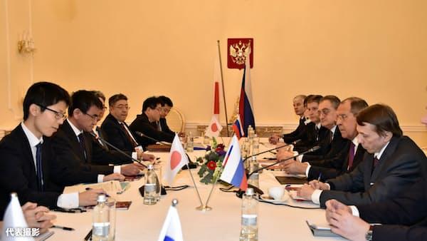 ラブロフ氏の来日合意 日ロ外相、平和条約交渉で