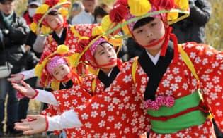 福島・浪江で震災後2度目の「安波祭」