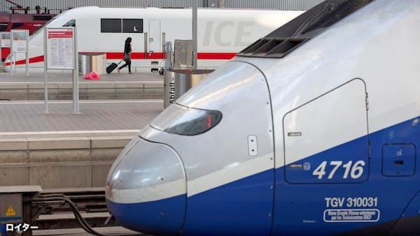 独仏の鉄道大型再編に待った 日本・カナダ勢に焦点