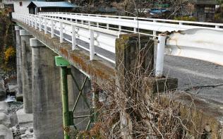 老朽化で撤去が決まった橋梁