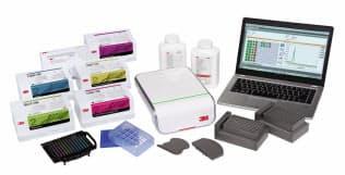 スリーエムジャパンが開発した食中毒菌を短時間で検査できるシステム