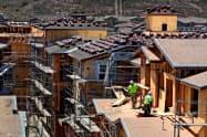 2月の米住宅建設業界景況感は2カ月連続で上昇した=ロイター