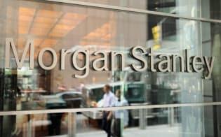 ニューヨークのモルガン・スタンレー本社=ロイター
