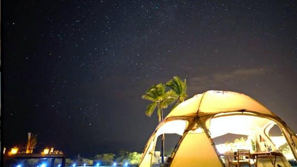 西武HDと日航、ハワイで協業 第1弾は「グランピング」