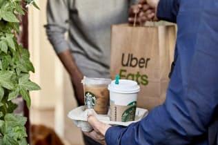 米スターバックスもウーバーとコーヒーの宅配で連携している