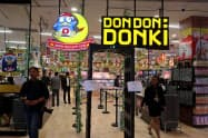 バンコクで22日に開業する「ドンドンドンキ」1号店(20日、バンコク)
