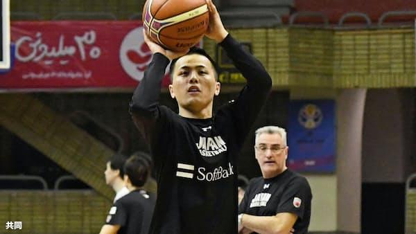 バスケ富樫、21日イラン戦に闘志 男子W杯予選