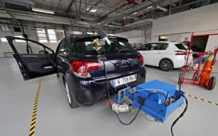 排ガス規制の強化が前倒しになるとディーゼル車750万台の販売に影響が出る可能性があるという=ロイター