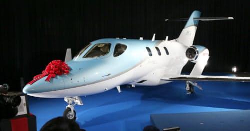 「ホンダジェット」は2018年12月から日本で納入が始まった(12月20日、羽田空港)