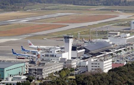 アクセス新線が建設されることが決まった熊本空港