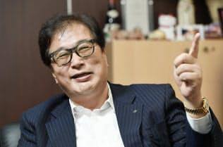 永野修身 マーキュリースタッフィング社長。山一証券のトップ営業マンだった。