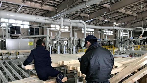木材加工のなかにし、七戸工場のプレカット生産能力3倍に