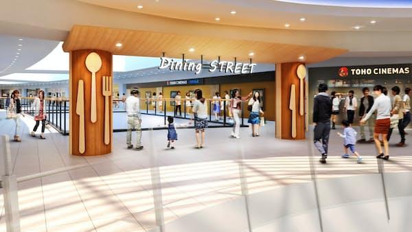 ららぽーと横浜が53店舗を刷新 3月から