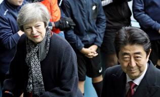 「合意なき離脱」の場合、日英の貿易協定の結び直しは間に合わない(AP)