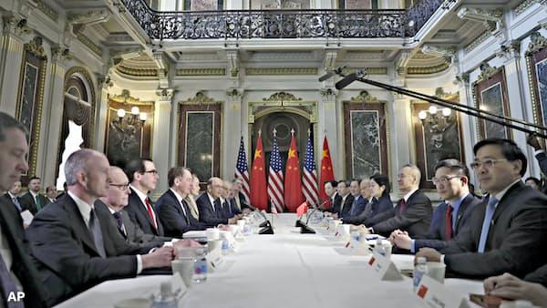 米中貿易協議始まる 知財など覚書作成に着手
