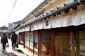 古民家を再生した宿泊施設「篠山城下町ホテルNIPPONIA」(兵庫県篠山市)