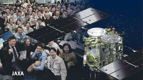 宇宙小国日本、技で勝負 はやぶさ2着陸成功