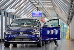 VWは逆風のなか増益を確保した=ロイター