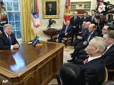 米中、首脳合意へ詰め急ぐ 関税上げ先送り検討