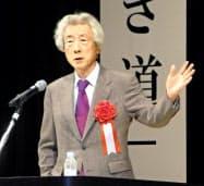 小泉純一郎元首相(1月23日、福島県二本松市での講演で)
