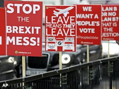 英3閣僚「離脱延期を」 合意なし阻止へ動き活発