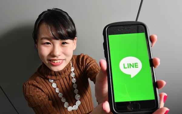 LINEの無料サービスは年300万円の経済的価値があると試算した金堂茉倫さん