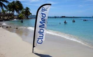 カリブ海のマルティニークにあるクラブメッドのリゾート=ロイター