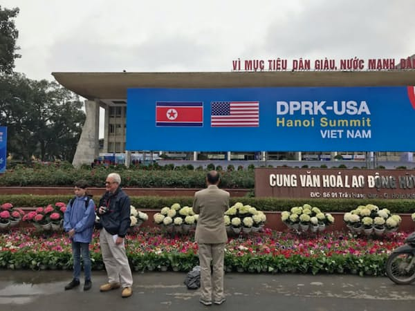 ハノイでは27日からの米朝首脳会談の準備が急ピッチで進む