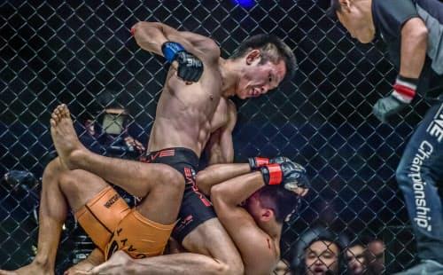 ONEは柔術やムエタイ、テコンドーなどアジア発祥の格闘技から選手が集まっている(2018年8月のマニラ大会)=ONE Championship提供