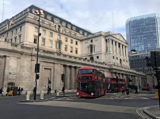 英米金融当局は英国のEU離脱後も協力を続ける(ロンドンのイングランド銀行本店)
