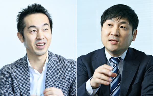曽山氏と曽和氏(右)