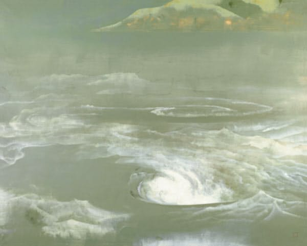 奥村土牛「鳴門」1959年 紙本・彩色 山種美術館蔵