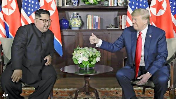 米朝首脳、27日夜から2日間会談 「非核化」焦点に