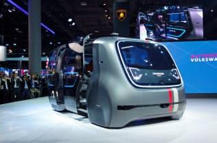 VWが開発する自動運転車「セドリック」