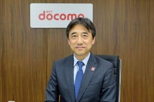 インタビューに応じたNTTドコモの吉沢和弘社長