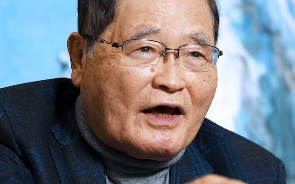元金融担当相の亀井静香氏