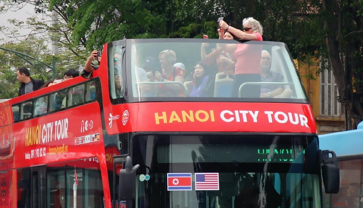 観光客も米朝首脳会談に関心