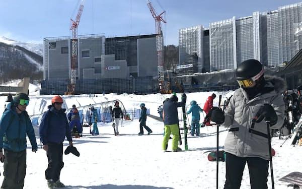 コンドミニアム開発の主体は外資大手に移りつつある(倶知安町の「HANAZONOリゾート」)
